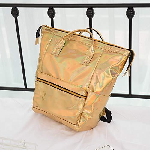 In Da Desigual Con Per Oro Pelle Donna Cerniera Alikeey A Viaggio Tracolla Borsa FRnwqI8