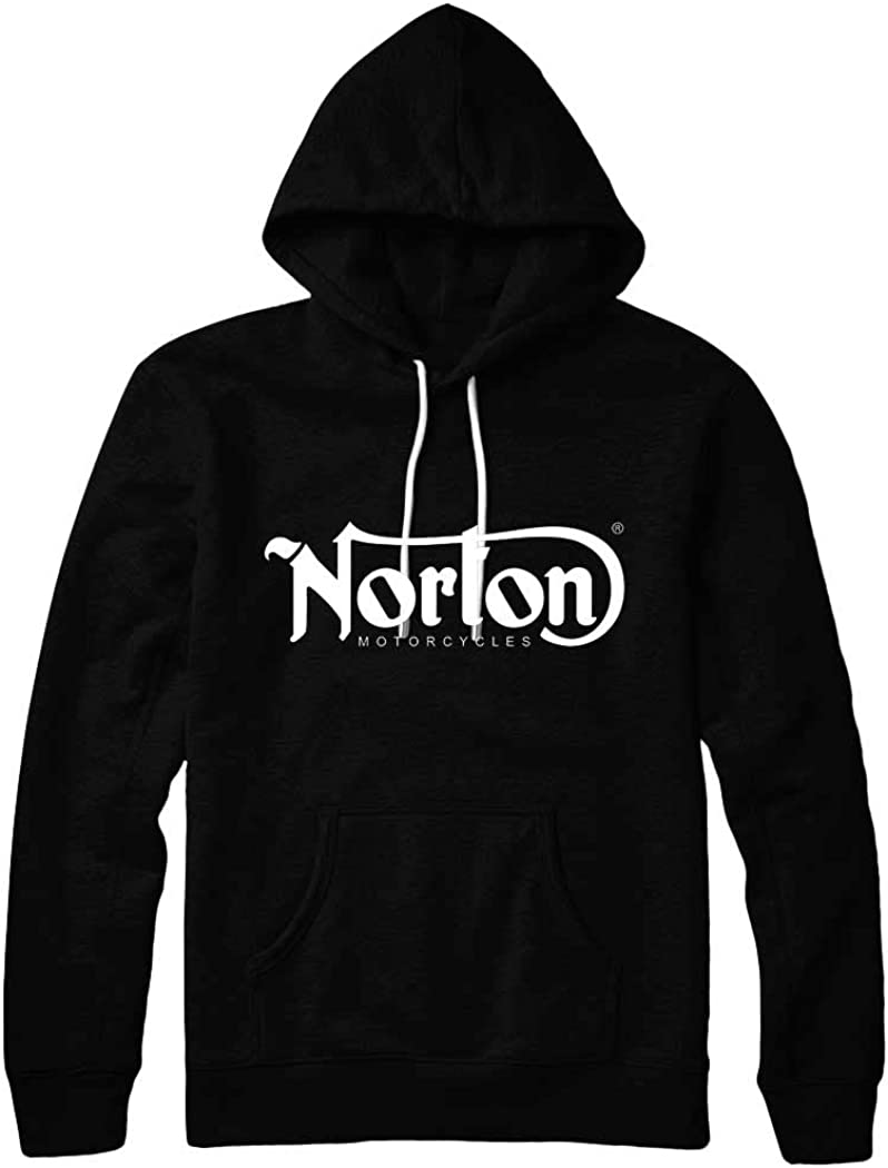 360 gifts Norton Logo Black Hoodie (Small) 51KMORzws6L