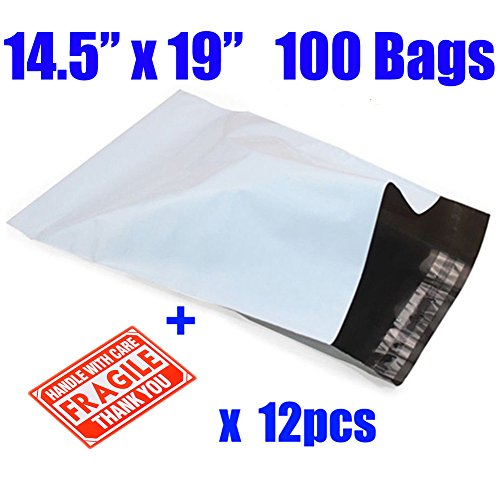 mflabel-100pcs-145-x19-poly-mailers-envelopes-mailing-shipping-bags
