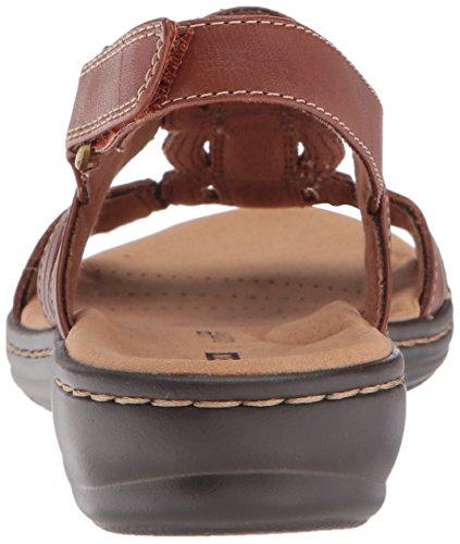 Dark CLARKS Women's Tan Leisa Platform Vine Leather SAxfSw6q4