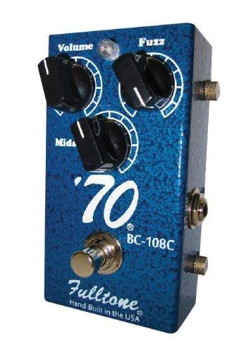 - Fulltone '70 BC-108C Fuzz Pedal