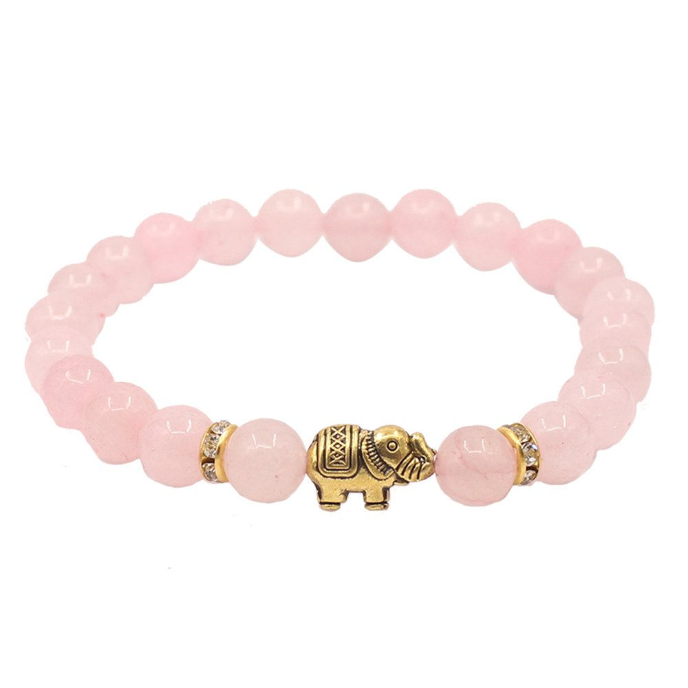 KSQS Lover Couple Bracelet Yoga Balancing Reiki Healing with Elephant for Christmas Thanksgiving Ltd KCBX1003#A