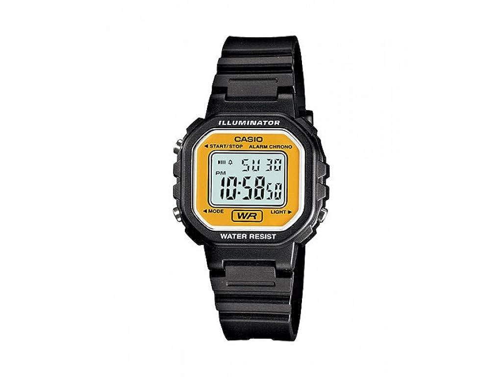 Casio LA20WH-9A Women s Black Chronograph Alarm LCD Digital Watch