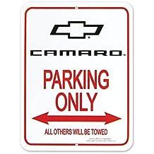 Camaro Bowtie Parking Only Sign