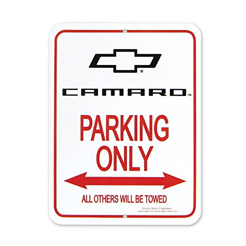 Camaro Bowtie Parking Only Sign