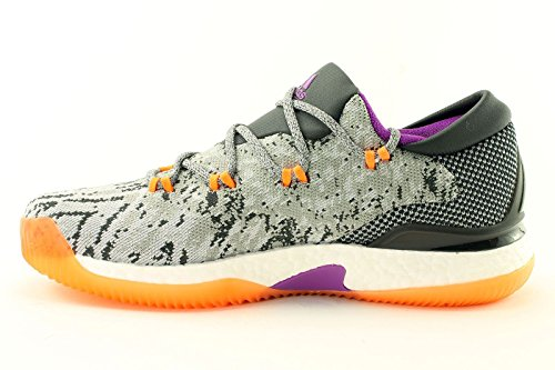 adidas Zapatillas de Baloncesto de Material Sintético Para Hombre Gris Gris