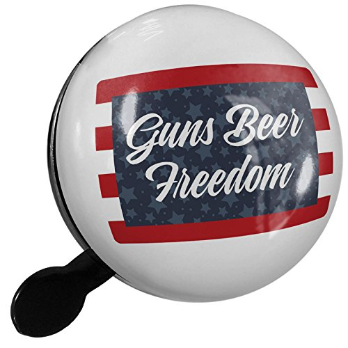 Small Bike Bell Guns Beer Freedom Fourth of July Stars and Stripes - NEONBLOND by NEONBLOND
