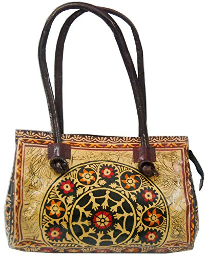 Of India Para Mujer Bolso Crafts Multicolour Hombro Al wAda5Zq