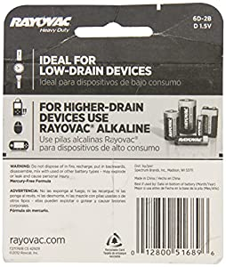 Rayovac Heavy Duty Batteries