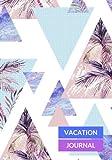 Vacation Journal: Sunset Palm Travel Notebook, Books, Holiday Scrapbook,Travel Planner, Keepsake, Log, Memories | Destination Checklist | Medium Softback (World Cultures) (Volume 19)