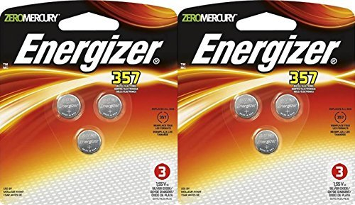 (2 Packs of Energizer 357BP-3 Watch/electronic Batteries)