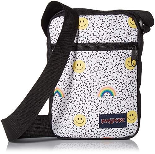 JanSport Weekender Crossbody Mini Bag Smiles and Rainbows