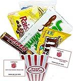 Movie Night Popcorn, Candy And Redbox Movie Gift