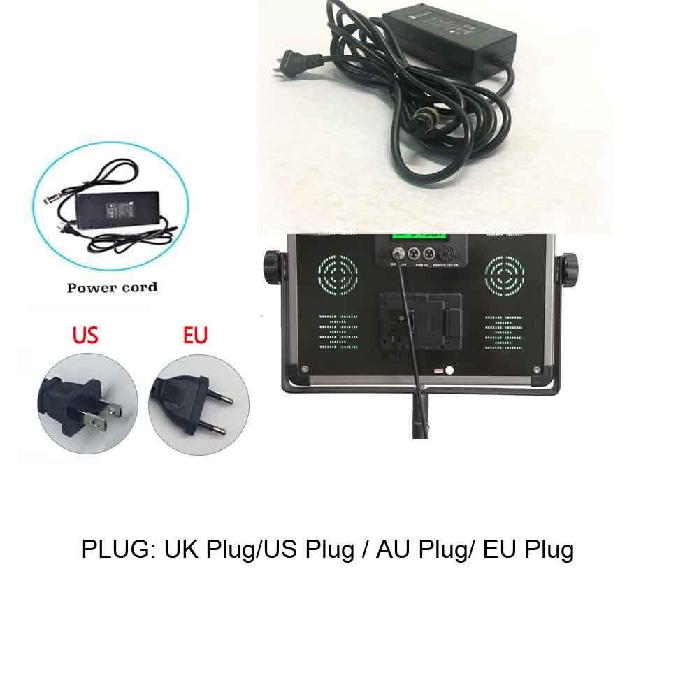 LED AC Adapter 110V 220V 240V to DC 15V Power Supply Plug: UK Plug/US Plug/AU Plug/EU Plug for LED Light