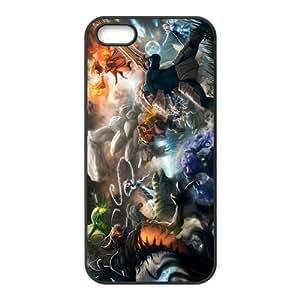 Custom Dota Back Cover Case for iphone5,5S JN5S-001