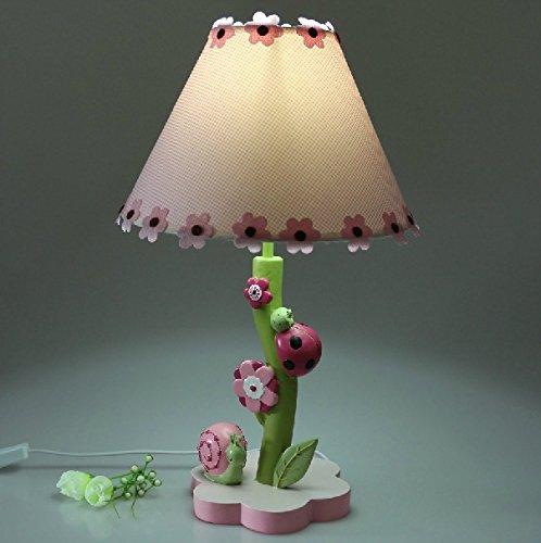 7 Sterne Marienkäfer Nachttischlampe Leuchten leuchten schlafzimmer kinder cartoon HANDWERK LAMPE
