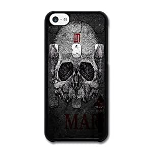 iPhone 5c Case Black 30 seconds to mars_018