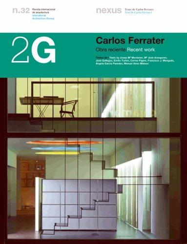Descargar Libro 2g N.32 Carlos Ferrater.: Recent Work Josep Maria Montaner