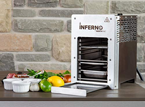 NORTHFIRE Inferno Single Propane Infrared Grill, Silver