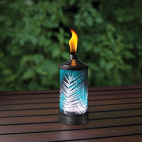 TIKI-Brand-Glowing-Table-Torch-Polynesian-Palm