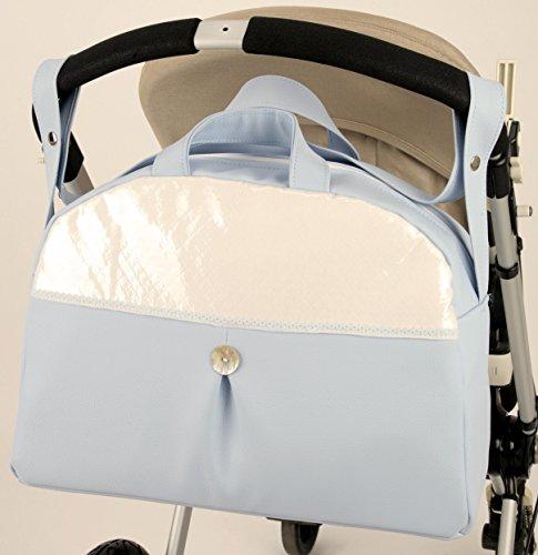 Bolso bebe prius azul