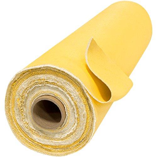 Steiner 364-40R Golden Glass Light 24 oz Gold Acrylic Coated Fiberglass Welding Blanket, 40