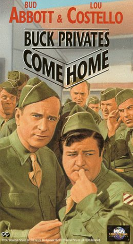 Abbott & Costello: Buck Privates Come Home [VHS] -