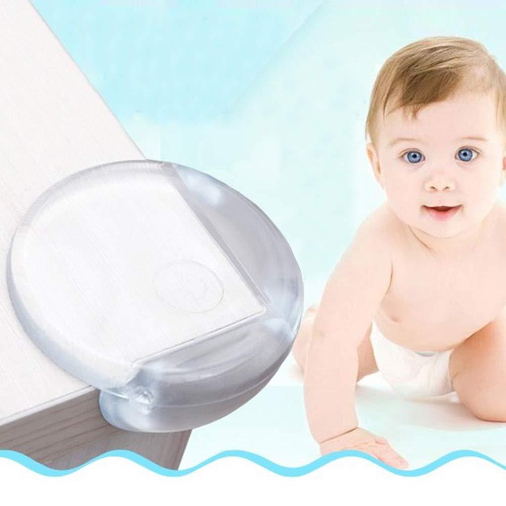 Racksoy Eckenschutz und Kantenschutz 30 St/ücke f/ür Tisch- und M/öbel-Ecken transparent Eckenschutz aus Kunststoff f/ür Kindersicherung Baby