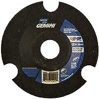 "Norton Charger AVOS Depressed Center Abrasive Wheel, Type 29, Aluminum Oxide, 7/8"" Arbor, 4-1/2"" Diameter x 1/8"" Thickness, Grit 36 (Pack of 25)"