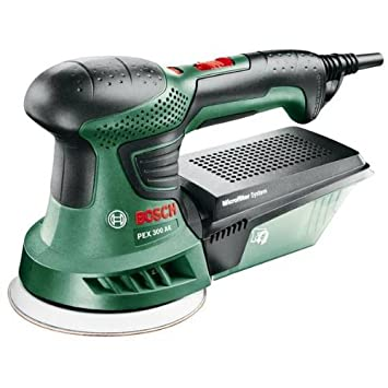 PEX 300 AE 270 watts Orbital Sander Diameter 125 mm Green Bosch Universal 240 volts