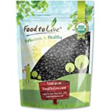 Food to Live Certified Organic Dried Blueberries (Non-GMO, Kosher, Unsulfured, Bulk) (8 Ounces)