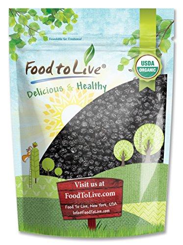Organic Dried Blueberries, 2 Pounds - Non-GMO, Kosher, Raw, Vegan, Unsulfured, Bulk (Difference Between Moist Heat And Dry Heat)