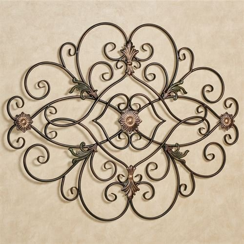 Grille Metal Wall - Touch of Class Pendant Metal Wall Grille Dark Bronze