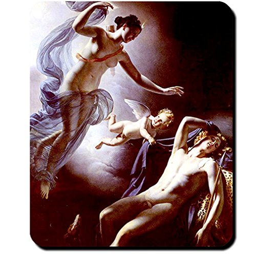 Endymion Diana Painting Jérôme Martin Langlois 1822 Greece Mythology Crescent Moon Godhood - Mouse Pad / Mousepad (Martin Best Of Jerome)