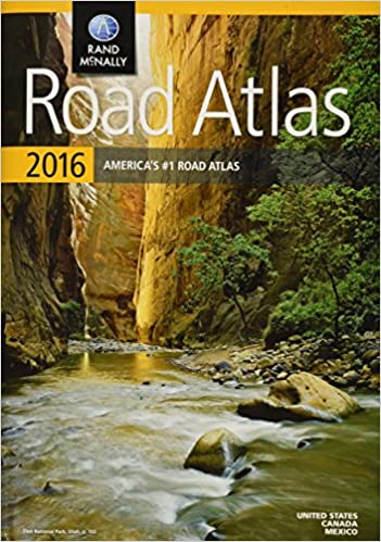 Rand McNally 2016 Road Atlas (Rand McNally Road Atlas)