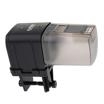Sharplace Alimentador Automático de Acuario Complimentos Pecera Acuario Plantado Fácilmente Cómodo