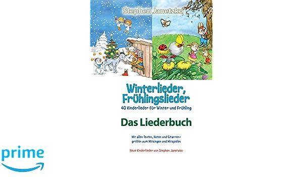 Winterlieder Frühlingslieder 40 Kinderlieder Für Winter Und