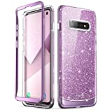 i-Blason Cosmo Series Designed for Samsung Galaxy S10 Case Stylish Full-Body Protective Bumper Case Without Built-in Screen Protector for Galaxy S10 2019 Release, Purple
