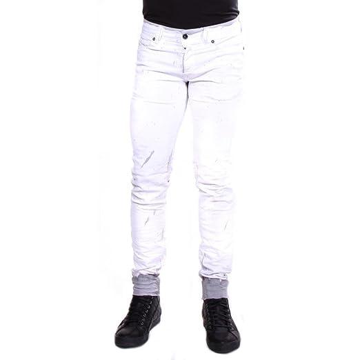 bf057dc0b62010 Amazon.com: Diesel Sleenker 860B Slim Skinny Jeans 32/32 Men White ...