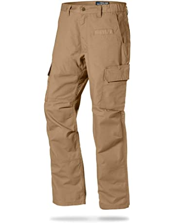 aea43da85f05 LA Police Gear Mens Urban Ops Tactical Cargo Pants - Elastic WB - YKK  Zipper.  2