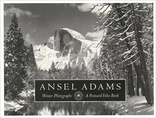 winter photographs a postcard folio book by ansel adams 1994 11 01