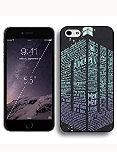 Image Background Doctor Who(Tardis Door) Iphone 6 Plus/5.5 Case Skin