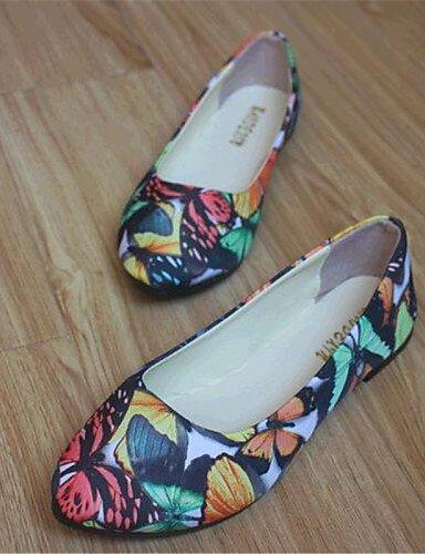 de tela de PDX zapatos tal mujer S81THPqW