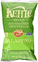 Kettle Chips Jalapeno Chips, 220 Gram