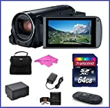 Canon VIXIA HF R800 Full HD Camcorder Bundle, includes: 64GB SDXC Memory Card, Card Reader, Spare Battery and more...