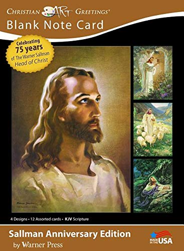 Card-Boxed-Head Of Christ/Sallman Art Assortment P ()