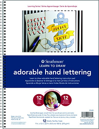 Strathmore 200 Learning Series Hand Lettering Basics Pad 9