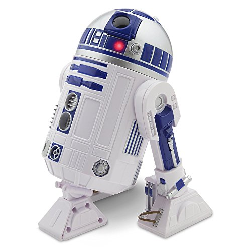 Disney Official Disney Star Wars The Force Awakens 26Cm Talking Interactive R2-D2 Figure With Light & - Commands D2 Interactive Droid R2