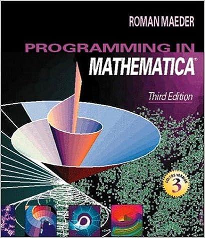 Programming in mathematica 3rd edition roman maeder programming in mathematica 3rd edition roman maeder 0785342854497 amazon books fandeluxe Choice Image