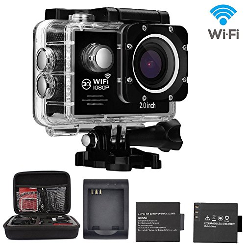 Sports Camera Waterproof Action batteries product image